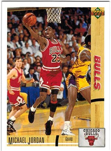 1991-92 Upper Deck NBA Finals Champion Chicago Bulls Team Set with 6 Michael Jordan & 2 Scottie Pippen - 21 NBA Cards
