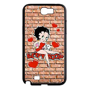 Betty Boop For Samsung Galaxy Note 2 N7100 Csae protection Case DHQ606517