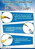 Nordic Flash Waterproof Camera Float - Pack of 2
