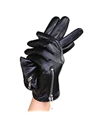 Mandy's Women's Nappa Leather Driving Gloves