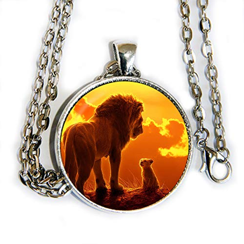 Lion King - new movie inspired - pendant necklace - HM
