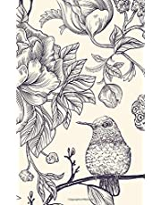 Password Book: Discreet Vintage Bird Design - Protect Your Username and Passwords with this Premium Journal and Notebook Password Organizer