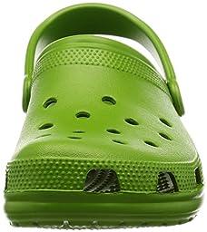 crocs Unisex Classic Clog,Parrot Green,9 M US Men\'s / 11 M US Women\'s