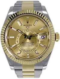 Sky-Dweller 42mm Stainless Steel & 18K Yellow Gold Watch 326933