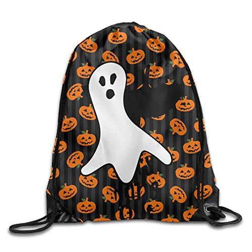 QiBePlo Halloween Gym Drawstring Backpack Sport Bags
