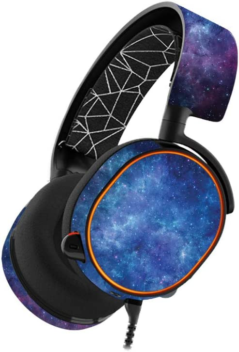 Easy to Apply Protective and Unique Vinyl Decal wrap Cover Nebula Made in The USA Remove MightySkins Skin Compatible with SteelSeries Arctis 5 Gaming Headset and Change Styles Durable