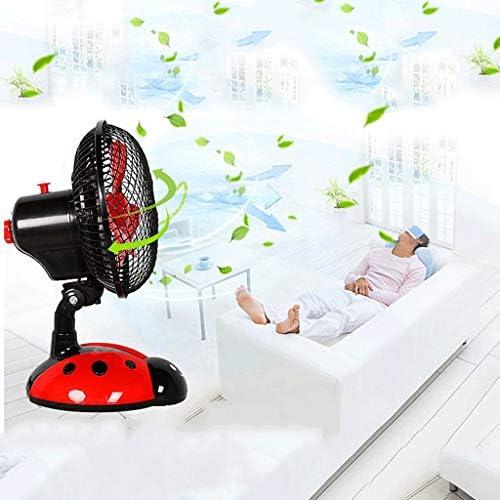 SMEJS Azionato Il Ventilatore, USB Fan Piccola scrivania Tranquillo Ricaricabile Design Portatile Fan Pieghevole for Home Office Auto Esterni