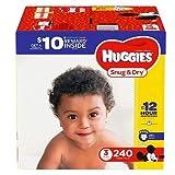 Huggies Snug & Dry Diapers - Size 3 (240 ct.)