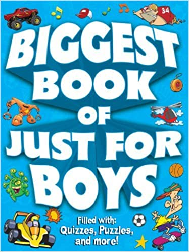 Book Biggest Book of Just for Boys by Kidsbooks Staff (2012-02-10)