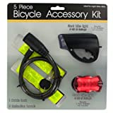 Kole Imports Bicycle Accessory Kit - Set of 2