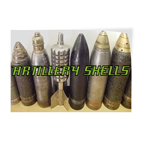 (Decal Sticker Multiple Sizes Artillery Shells Business Shells Outdoor Store Sign White - 69inx46in, One Sticker)