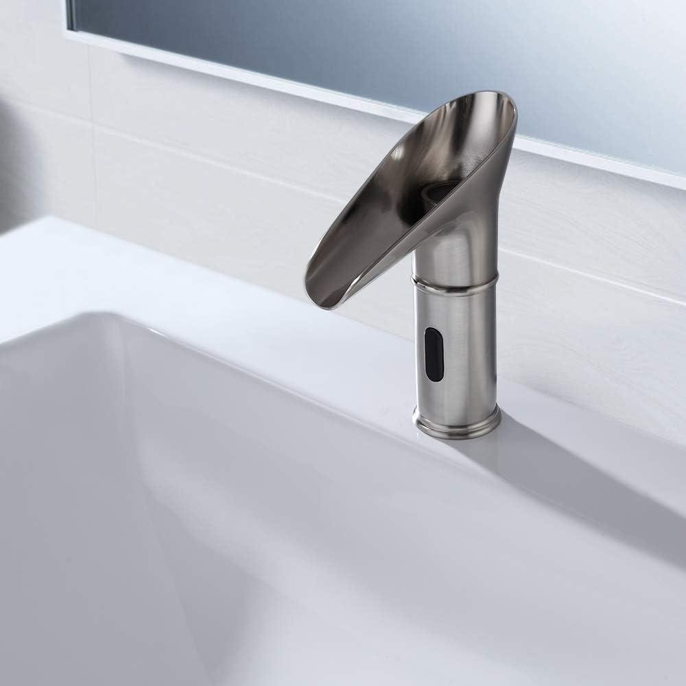 Brushed Nickel Single Handle Lavatory