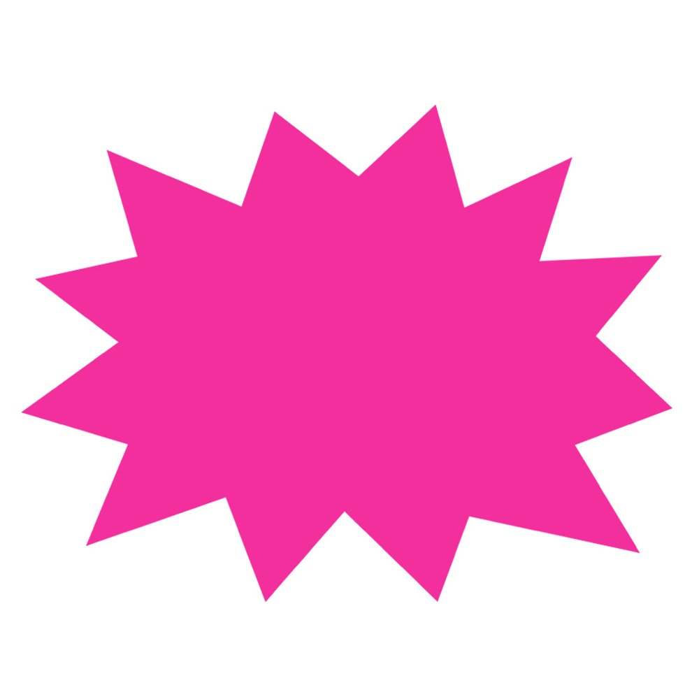 ArtSkills Small Neon Poster Board Shapes, Arts and Crafts Supplies, Pre-Cut Poster Shapes, 11'' x 14'', 5 Pieces (PA-1363) by ArtSkills (Image #3)