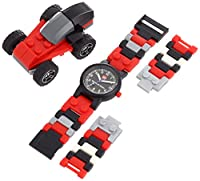 LEGO Kids' 4271021 Racers Watch With Racecar by LEGO