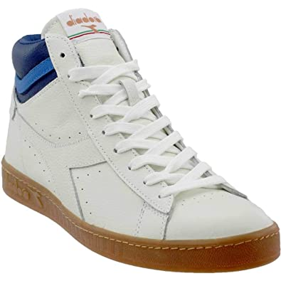 051a592849 Amazon.com | Diadora Mens Game L HIGH Athletic & Sneakers White | Shoes