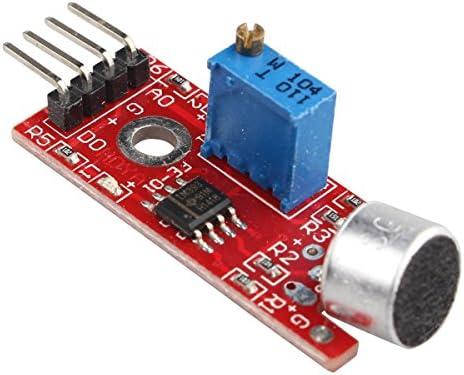 Módulo sensor de detección de sonido del vehículo inteligente para Arduino Raspberry Pi