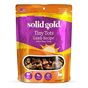 Discontinued By Manufacturer: Solid Gold Tiny Tots Dog Treats, 10oz