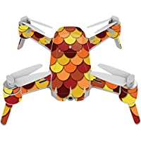 Skin For Yuneec Breeze 4K Drone – Red Scales | MightySkins Protective, Durable, and Unique Vinyl Decal wrap cover | Easy To Apply, Remove, and Change Styles | Made in the USA