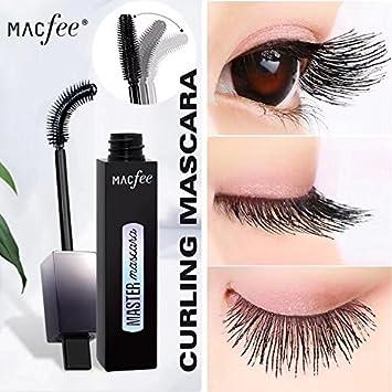 Macfee Curved Brush Mascara, Makeup Lash Sensational Washable Mascara -Authentic