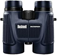 Bushnell H2O Waterproof/Fogproof Roof Prism Binocular, 10 x 42-mm, Black (Renewed)