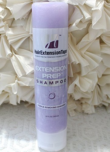Walker Extension Prep Shampoo Residue Removing and Clarifying Shampoo for Tape In Hair Extensions