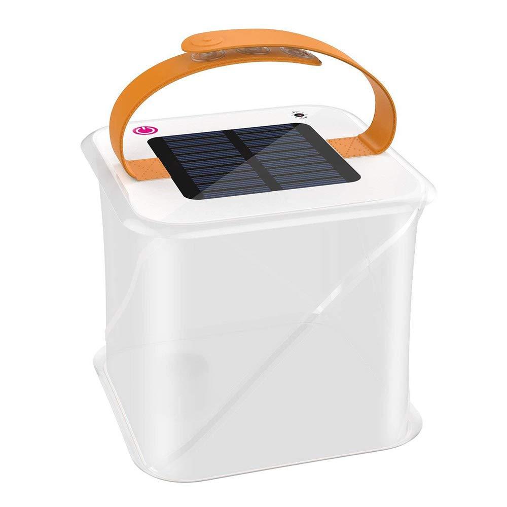 ADI Solar Inflatable Lanterns,Ideal Emergency Light Adjustable Strap Lightweight Lantern Waterproof Outdoor Light Perfect for Camping,Hiking,Biking,Kayaking,Sailing,Fishing