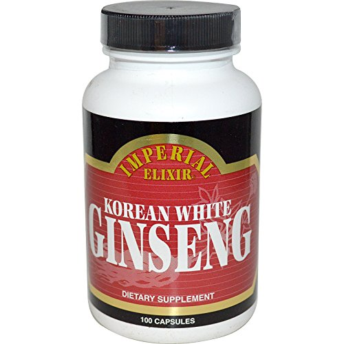 Imperial Elixir Korean White Ginseng 100 Capsules - Korean White Ginseng