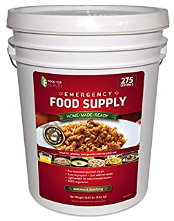 Food For Health Vegetarian Emergency Food Supply 275 Servings Up to a 20 Year Shelf Life Weather Proof Bucket (B004S7SUDK) | Amazon price tracker / tracking, Amazon price history charts, Amazon price watches, Amazon price drop alerts
