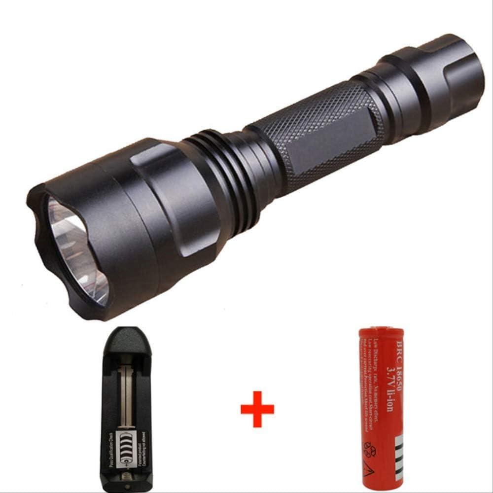 MCFN Linterna LED táctica de Alta Potencia Xm-L2 T6 U3 Linterna de ...