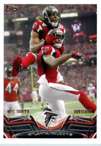 2013 Topps NFL Football Card #256 Atlanta Falcons MINT