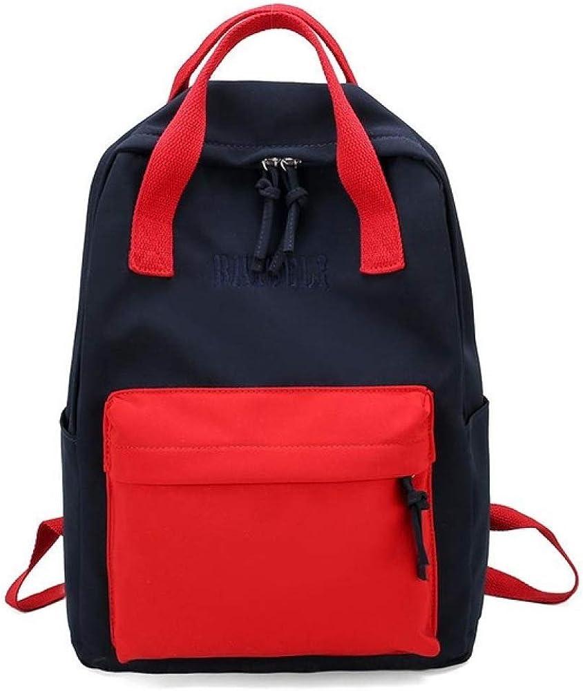 VICTOE Mochila de estilo literario simple para mujer de gran capacidad mochila de viaje femenino mochila de moda juvenil bolsa