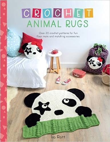 Crochet Animal Rugs Over 20 Crochet Patterns For Fun Floor Mats And