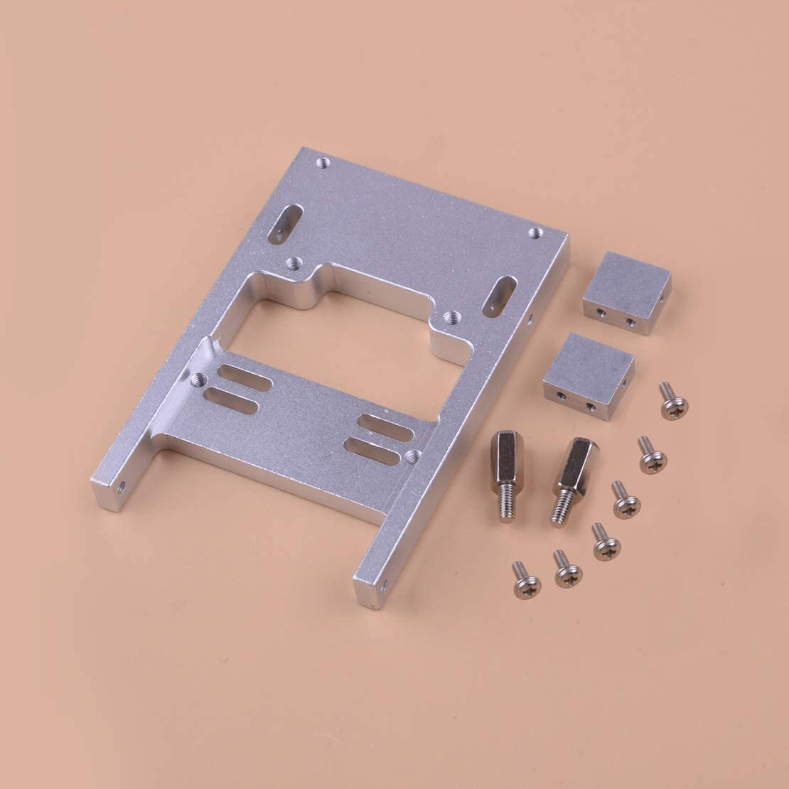 Fit for WPL B24 C24 C14 RC Servo 1//16 Spare Steering Fixed Upgrade Mount Holder