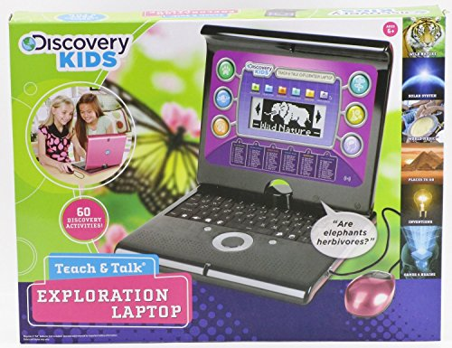 (Discovery Battery Operated Portable Teach & Talk Laptop 14