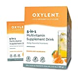 Oxylent, 5-in-1 Multivitamin Supplement Drink, Mandarin, 30 Packet Box For Sale