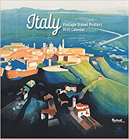 Italy Vintage Travel Posters 2020 Calendar: Pomegranate