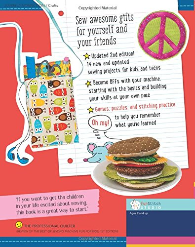 The Best of Sewing Machine Fun for Kids: Ready, Set, Sew - 37 Projects & Activities by C&T Publishing / FunStitch Studio (Image #1)