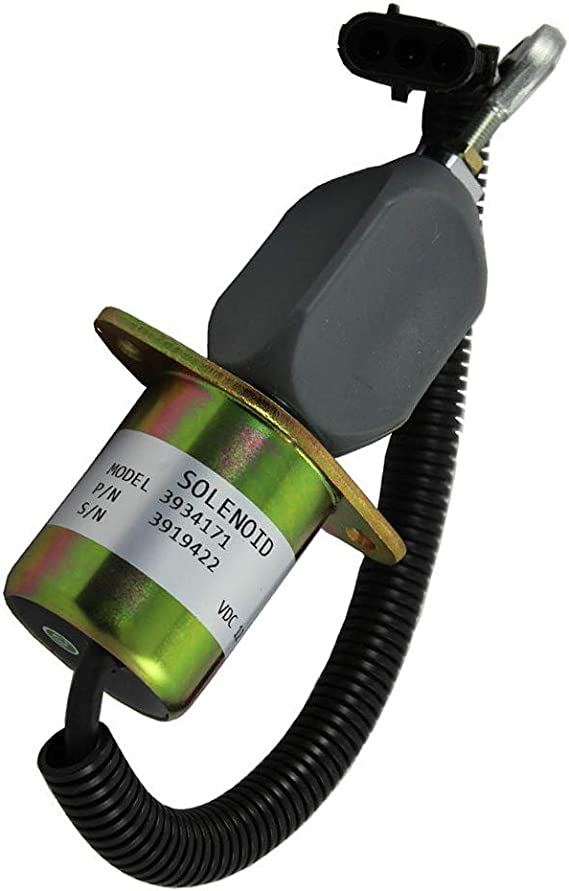 3919422 Fuel Shut Off Solenoid Cummins Diesel 2-1//2 bolt spacing  for Ford 8.3L
