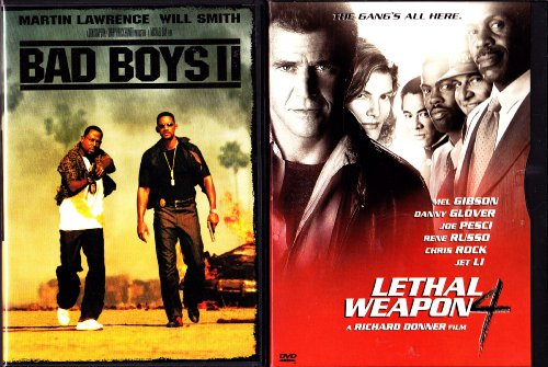 Lethal Weapon 4 , Bad Boys 2 : Police Action 2 Pack