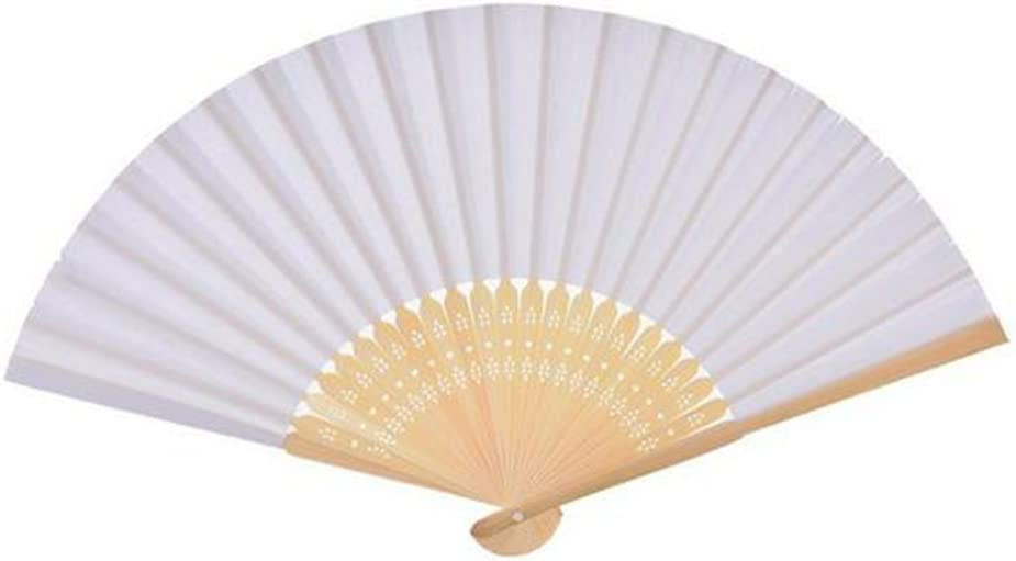 Freedi Chinese Japanese Handheld Folding Fan for Wedding Church Party Gifts Vintage Retro Home decor