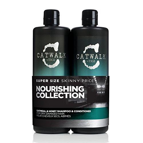 Tigi Catwalk Oatmeal & Honey Shampoo and Conditioner 25.36 Oz Tween by Tigi by Catwalk By Tigi -