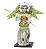 Black Temptation Traditional Chinese Doll Peking Opera Performer - Zhao Yun