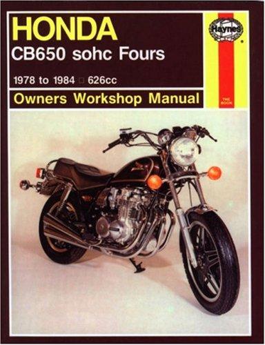 Honda CB650 '79'82 (Owners' Workshop Manual)