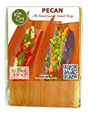 Kelly Craig SW-13-002 All Natural Smoked Grilling Wraps (10 Pack), Pecan