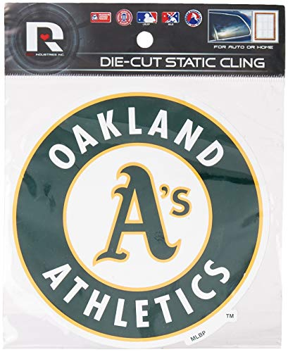 Rico MLB Oakland Athletics Shape Cut Static Decal ()