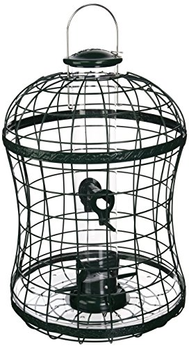Capacity Mixed Seed Feeder (Woodlink WLTUBE10 Caged Mixed Seed Tube Feeder)