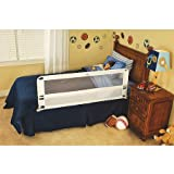 Baby : Regalo Hide Away 54-Inch Extra Long Safety Bed Rail, Features Rail that Slides Under Mattress
