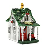 Fiddlehead Lighted Fairy Garden Christmas House