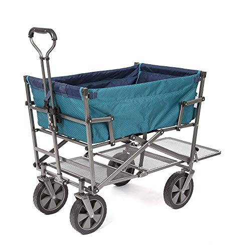 Mac Sports Double Decker (DD-100) Teal, Wagon,