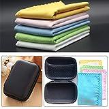 Luvay Polishing Cleaning Cloth Set with Case (EVA Box) - 5 Pack, 10